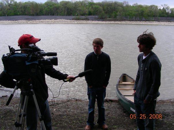 Colton and Sean Media Coverage in Winnipeg, Manitoba.